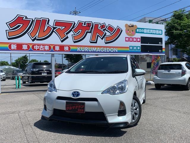 トヨタ アクア G /フルセグTV/ナビ/バックカメラ/モデリスタエアロ/ETC/スマートキー/プッシュスタート