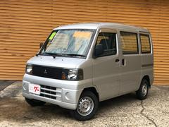 ミニキャブバンCD 4WD 5MT Tベルト交換済み