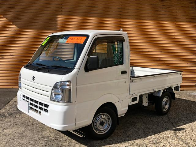 スズキ KCエアコン・パワステ AT 4WD 荷台マット付き