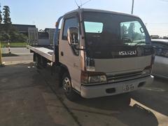エルフトラック全国登録PM・NOX適合 積載車 ローダー ワイドロング