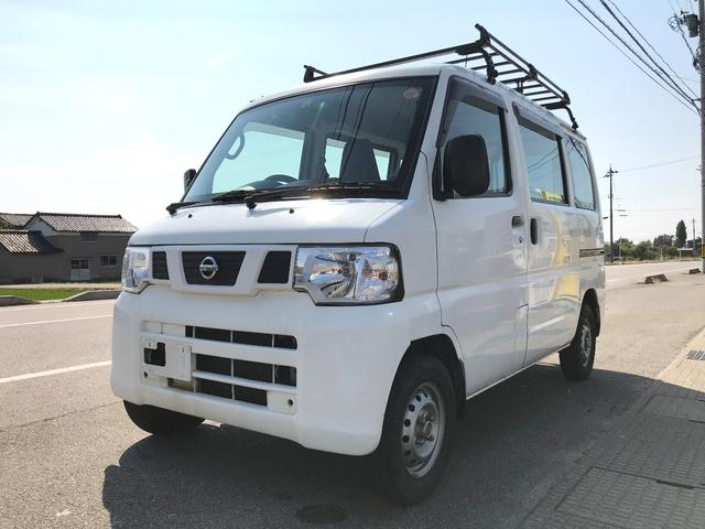 日産 4WD 軽バン 箱バン AT ナビ テレビ AC キャリア