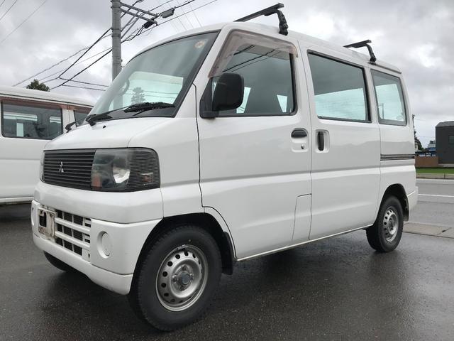 三菱 CD 4WD ハイルーフ パワステ エアコン 夏冬タイヤ