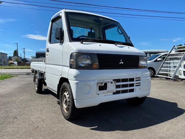 三菱 Vタイプ 軽トラ 5速MT エアコン 2WD