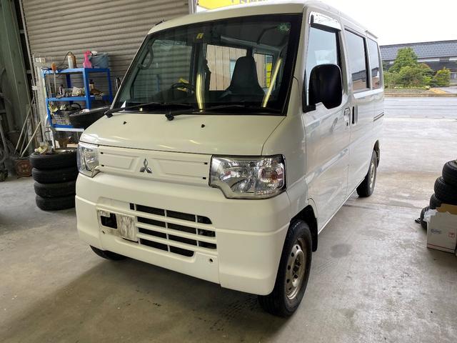 三菱 ミニキャブバン CD 4WD ハイルーフ パワステ エアバック ABS ドラレコ