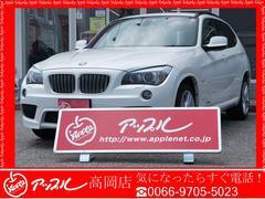 BMW X1xDrive 25i Mスポーツ4WDHDDナビワンオーナー