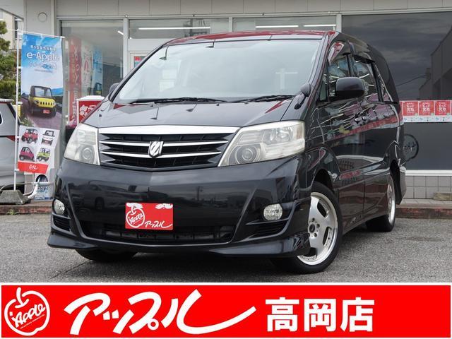 トヨタ AS 純正HDDナビTV・リヤフリップダウンモニター・社外18インチAW・7人乗