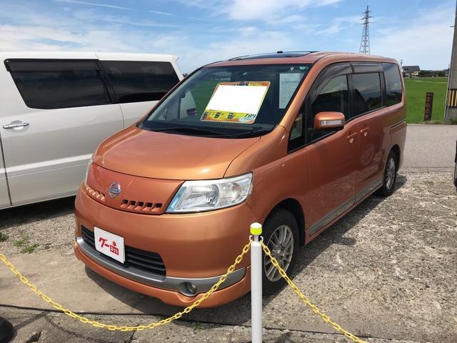 日産 20RX サンルーフ 電動スライドドア ナビ TV Bカメラ