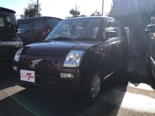 スズキ EII 軽自動車 4WD クラッシーレッドパール AT AC