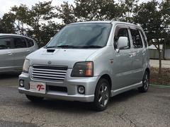 ワゴンRRR−Sリミテッド 4WD CD キーレス アルミ