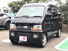 エブリイワゴンジョイポップターボ ナビ 軽自動車 4WD インパネAT