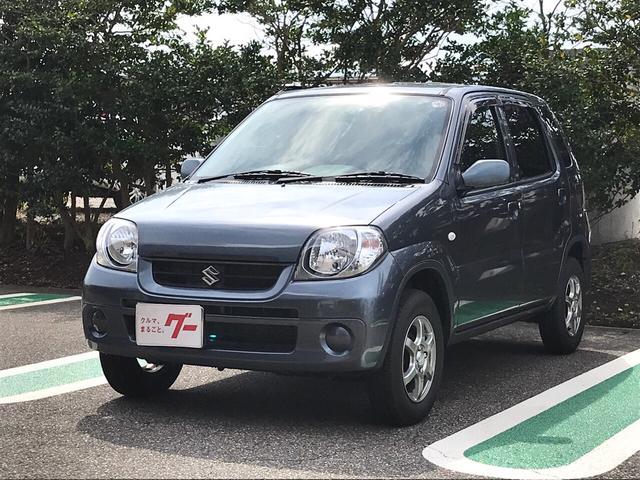 スズキ Kei A 軽自動車 アズールグレーパールメタリック AT AC
