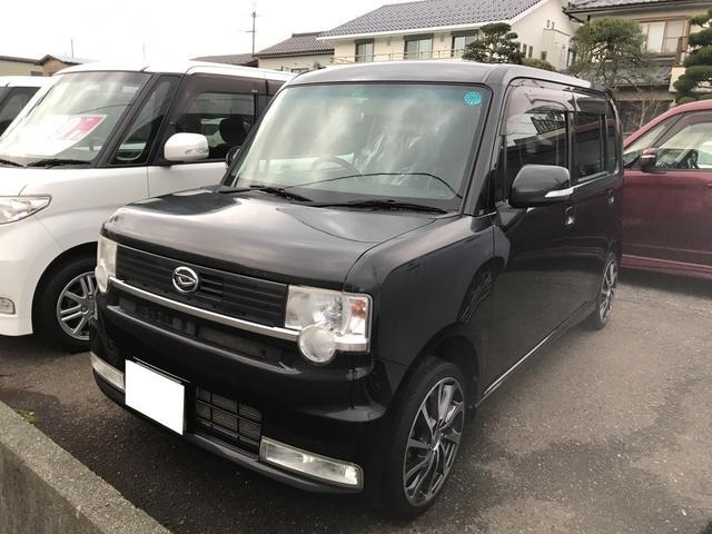 ダイハツ カスタム X リミテッド ナビ 軽自動車 ETC CVT
