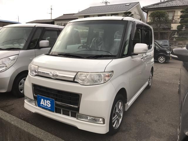 ダイハツ カスタムXリミテッド 軽自動車 パールホワイトIII CVT