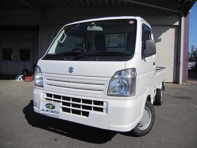 スズキ KCエアコン・パワステ エアコン パワステ 4WD マニュアルエアコン パワステ付 切替式4WD 運転席エアバック