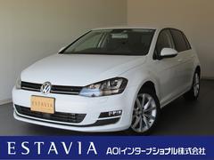 VW ゴルフTSIハイラインBMT 純正ナビTV レーンキープ ACC