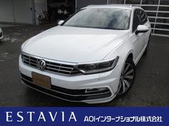 VW パサートヴァリアントTSI Rライン 純正ナビTV 自動ブレーキ