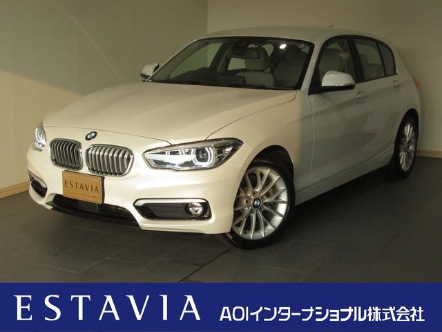 BMW 118dファッショニスタ ACC 本革 HDDナビ LED