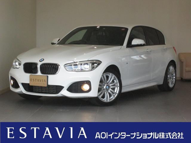 BMW 118i Mスポーツ 1オーナ HDDナビBカメラ LED