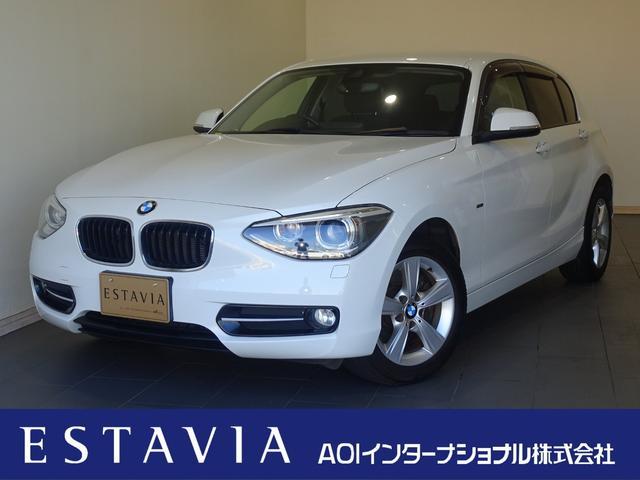 BMW 1シリーズ 116i スポーツ インテリジェントセーフティ オートクルーズ レーンアシスト 純HDDナビ Bカメラ ETC HIDオートライト キー2個