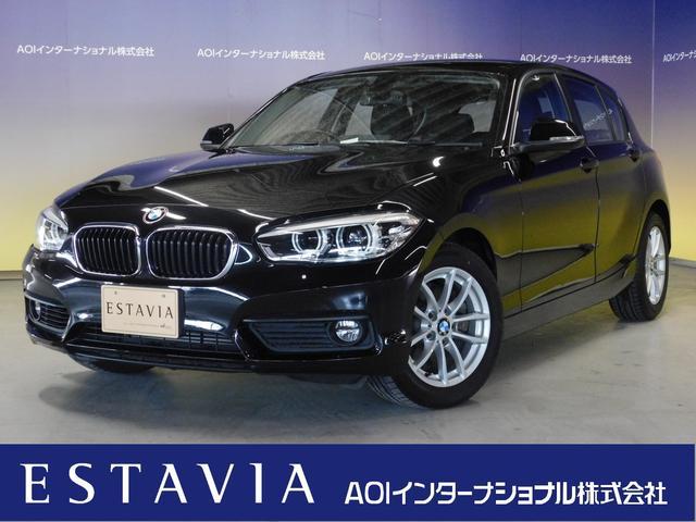 BMW 118i パーキングサポートPKG プラスPKG 純正HDDナビ Bカメラ LEDオートライト LEDフォグ リアソナー キー2個 ETC