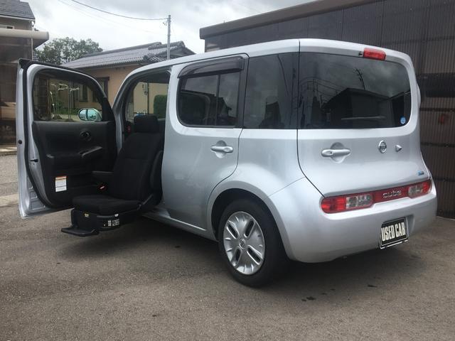 日産 キューブ 15X 助手席リフトアップシート ウェルキャブ 福祉車両