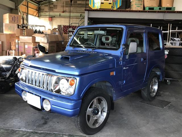 スズキ XLリミテッド 4WD 純正アルミ フォグランプ 5MT
