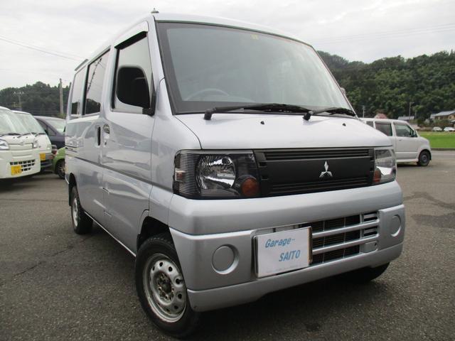「三菱」「ミニキャブバン」「軽自動車」「福井県」の中古車