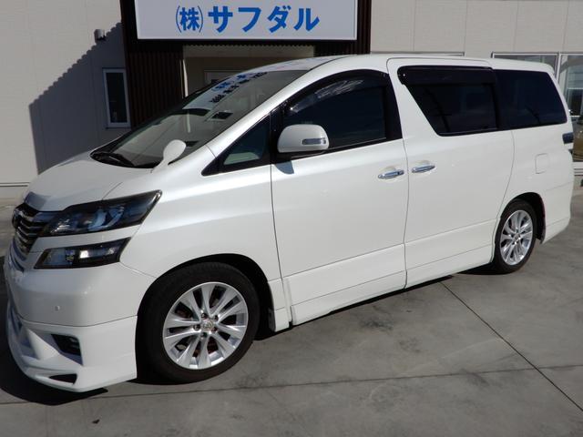 トヨタ 2.4Z HDDナビ フリップダウンモニター バックカメラ 社外エアロ ETC