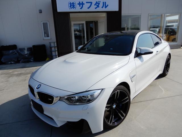 BMW M4クーペ ナビ 革シート シートヒーター 障害物センサー クルーズコントロール
