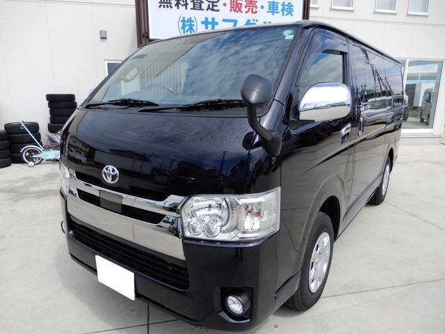 トヨタ スーパーGL ダークプライムII 4WD 純正SDナビ フルセグTV バックルームミラー ETC Bluetooth