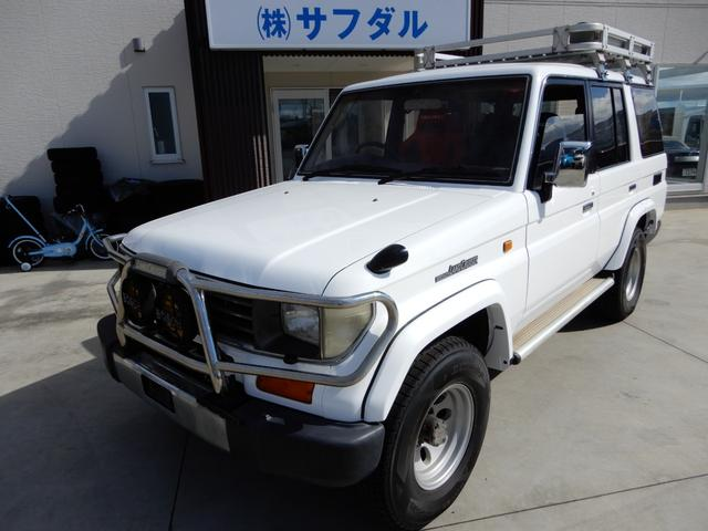 トヨタ SXワイド マニュアル5速 ターボ RECAROシート 4WD