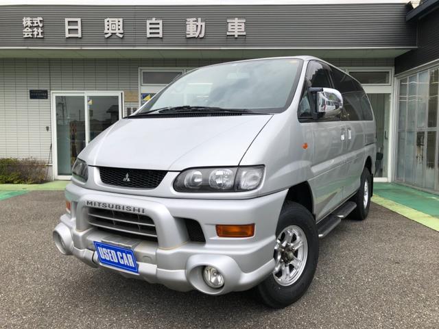 三菱 シャモニー 4WD 新品タイヤ・アルミホイール