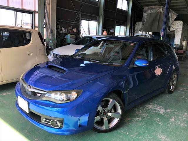 スバル WRX STi 4WD 社外ナビ TV ETC 新品タイヤ