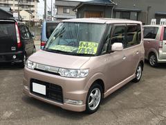 タントカスタム 軽自動車 4AT エアコン アルミ 4人乗り CD