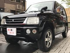 パジェロミニVR 希少4WD!!ナビ付!キーレス!