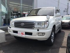 ランドクルーザー100VXリミテッド Gセレクション 純正ナビ キーレス 4WD