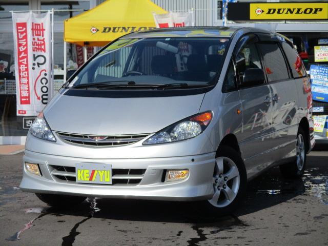 トヨタ アエラス 4WD ツインムーンルーフ 左電動スライド ETC