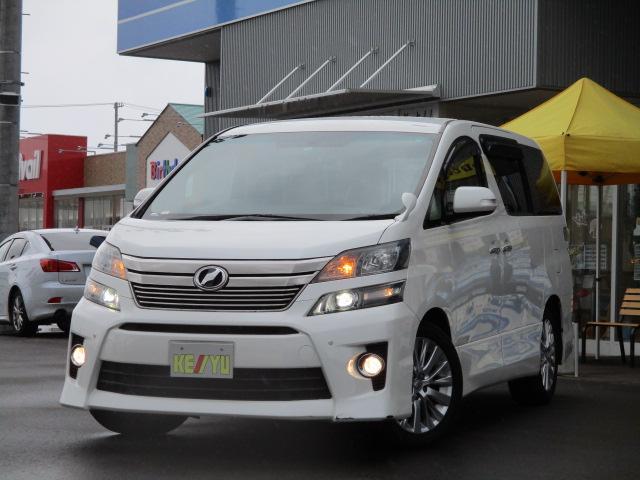 トヨタ 3.5Z 8人乗 ドラレコ HDDフルセグナビ FDモニター