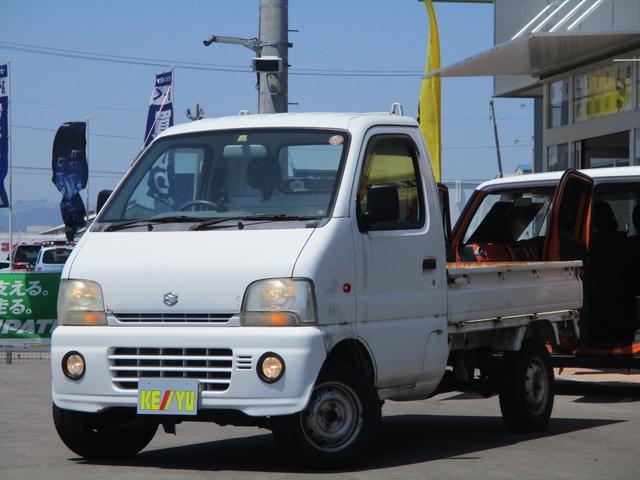 スズキ KA 三方開 4WD 5MT エアコン フォグ