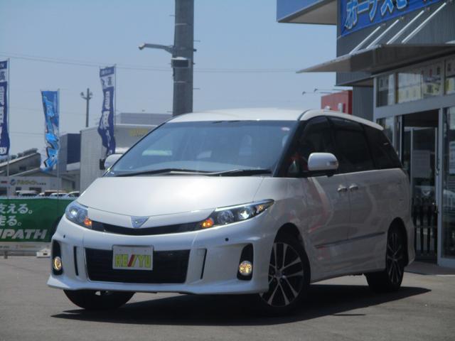 トヨタ アエラスプレミアムED7人1オーナー禁煙車 SDフルセグナビ