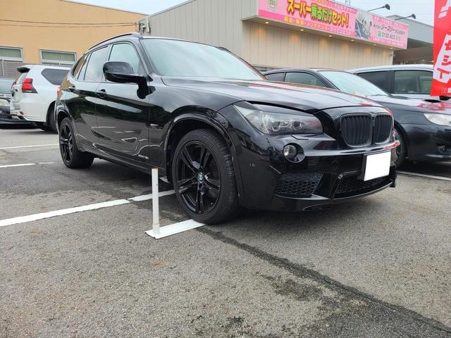 BMW X1 sDrive 18i Mスポーツパッケージ sDrive 18i Mスポーツパッケージ バックカメラ付ナビ バックカメラ 純正アルミ ブラック塗装済車検 令和4年8月29日