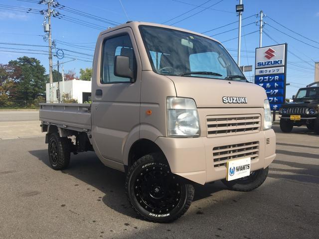 スズキ キャリイトラック KCエアコン・パワステ 5MT 4WD 3方開 保証付
