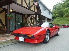 フェラーリ 308GTS スチールボディのキャブレター仕様 本革 純正アルミ
