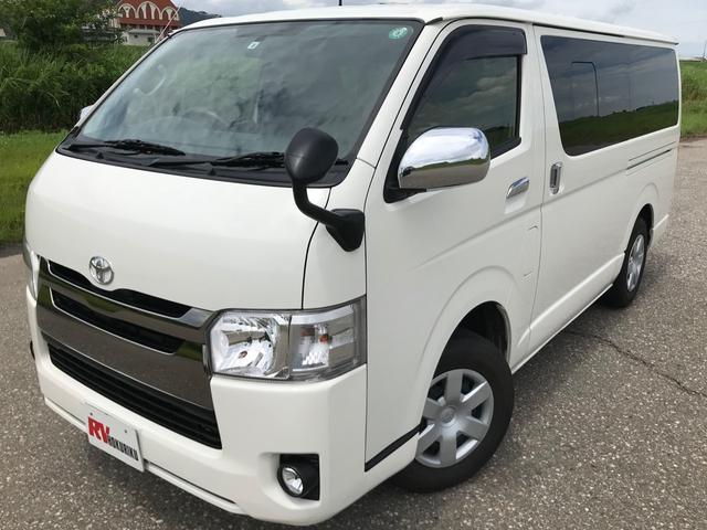 トヨタ ロングDX 9人乗 Dゼル 4WD  Wエアコン