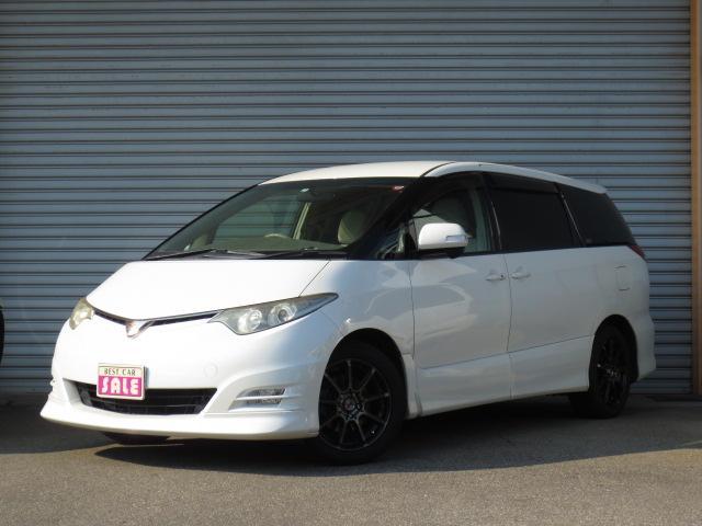 トヨタ 2.4アエラス Gエディション 社外17インチAW