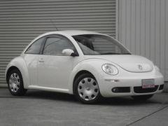 VW ニュービートルクレム 天井張替済み 新品タイヤ  HDDナビ 整備記録簿