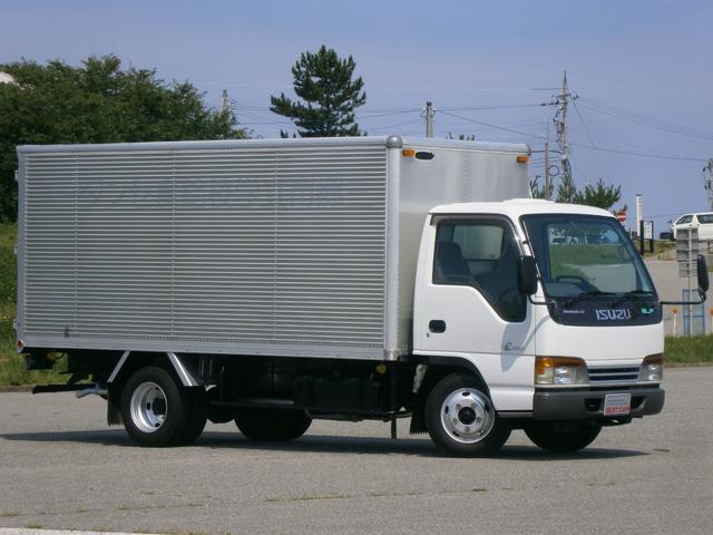 いすゞ 標準ロング 2t アルミバン ディーゼル NOx・PM適合車