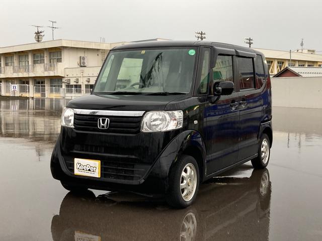 ホンダ G ナビ ブラック CVT AC 両側スライドドア バックカメラ AW 4名乗り オーディオ付 DVD スマートキー