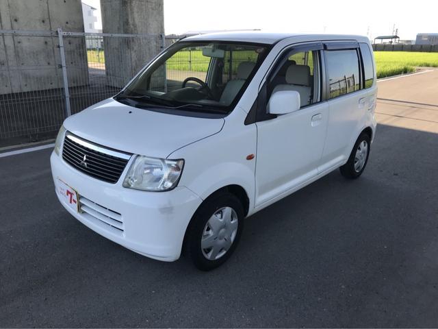 三菱 軽自動車 ホワイト 車検整備付 AT AC タイベル交換済み