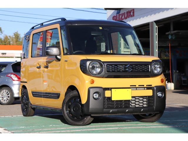 スズキ ハイブリッドXZターボ スマートキー シートヒーター 4WD
